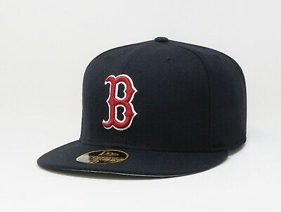 New Era 59Fifty Cap MLB Boston Red Sox 2007 Season Mens Navy Blue Fitted Hat