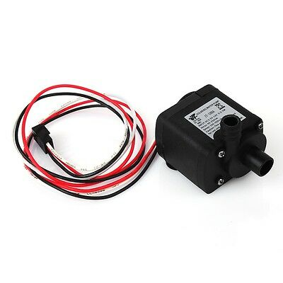 100-350L/H DC 12V Brushless Micro Motor Water Pump For PC Liquid Cooling System