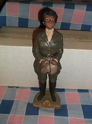 Black History Heroes by Miss Martha Bessie Coleman 9 1/4 Inch High