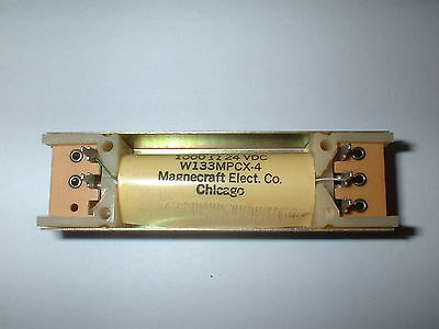 Magnecraft W133Mpcx-4  Spdt  24V Dc Reed Relay Mercury Wetted 1000 Ohm  Box#14