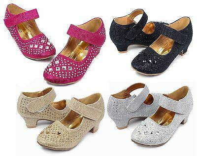 Trixy-03 Blink Cute Wedding Church Party Kids Youth Girl's High Heel Dress Shoes