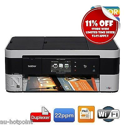 Brother MFC-J4620DW All-in-One Wireless Color Inkjet Printer+Duplex+NFC *RFB*
