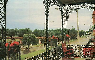 Front Street, Natchitoches, Louisiana, Prudhomme Building, Cane River - Postcard