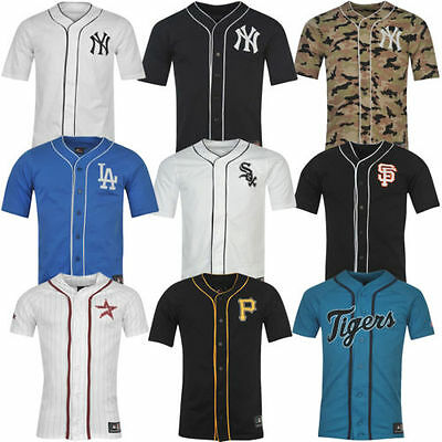 MLB Maillot Baseball Jersey Pittsburg Yankees Giants Rouge Sox Astros Blues neuf