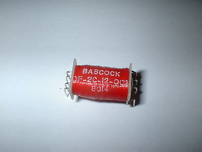 Babcock Relay Of-2C-12-002  Dpst 12V Dc Reed Relay  Box#14