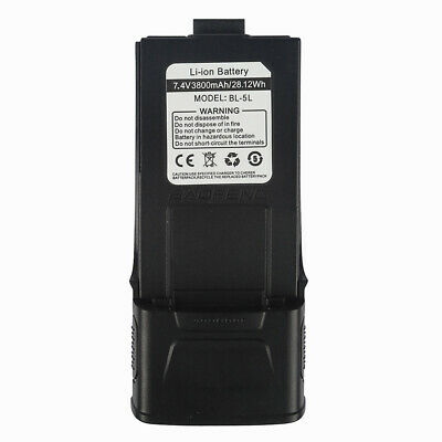 * 3800mAh* Li-ion High Capacity Battery For Baofeng GT-3 / GT-3TP Two-way Radio