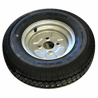 100mm PCD Trailer Wheel & 145 R10 8 PLY Radial Tyre TRSP01