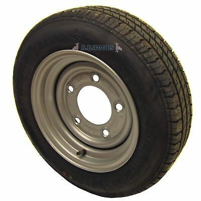 "Trailer Wheel and Tyre 155 / 70 R12 61/2"" PCD 5 STUD TRSP07"
