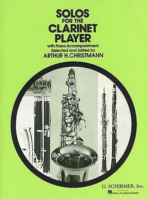 SOLOS FOR CLARINET PLAYER, Default setting, FMW - GS33028