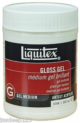 Liquitex Professional Medium Gloss Gel 237ml Artist Paints Quality Acrylic Art