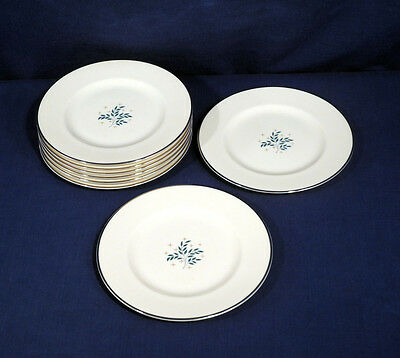 """Syracuse China LYRIC 8 Bread and + Butter Plates 6-1/4"""" Excellent Condition"""