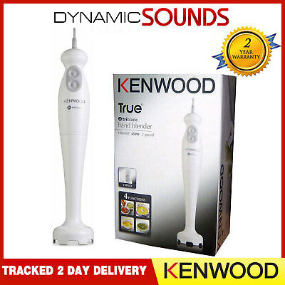 Kenwood HB680P Electric Food Hand Blender 450w Turbo Speed Stainless Blade White