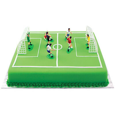 decorations cake pme soccer topper decorating set piece decor birthday football