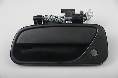 fits Toyota T100 93-98 Truck Outside Exterior Door Handle Black Front Left