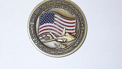United Retired Widows And Widowers United States Air Force Challenge Coin