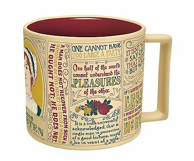 Mug - UPG - Jane Austen New Coffee Cup 3764