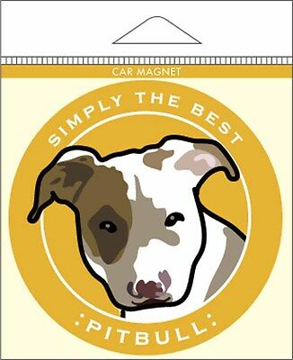 Pitbull Car Magnet 4×4″