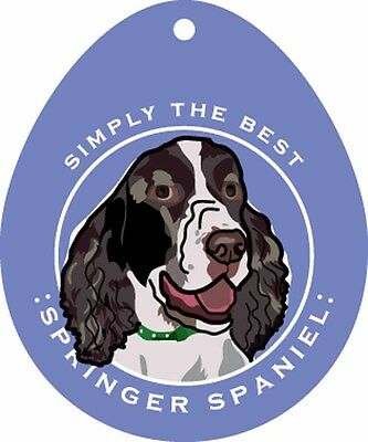 Springer Spaniel Sticker 4×4″