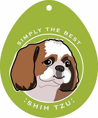 Shih Tzu Sticker 4x4""