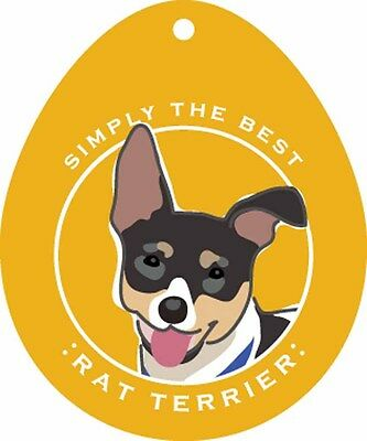 Rat Terrier Sticker 4×4″