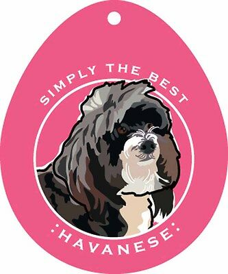 Havanese Sticker 4×4″