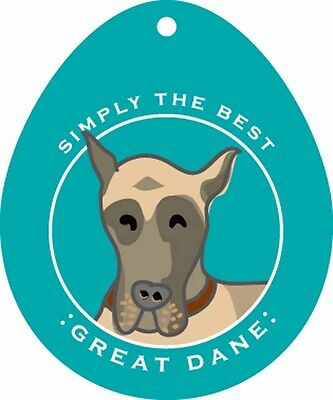 Great Dane Sticker 4×4″