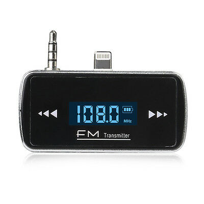 Car FM Radio Modulator Transmitter Wireless MP3 Player ITRIP for iPhone 6 4.7""