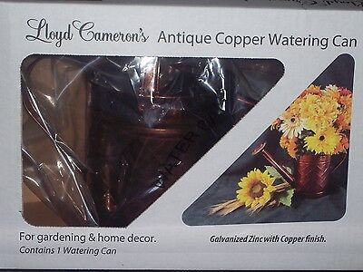Lloyd Cameron's Antique Copper Watering Can (3.5 Liters)