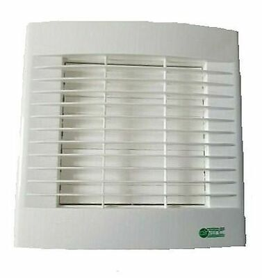 """Airvent Kitchen Extractor Fan 6"""" 150mm With Pullcord & Automatic Auto Shutters"""