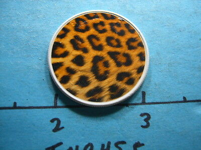 Cheetah Pattern Colored Design On 2003 Kennedy Half Dollar Nice Item