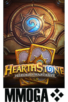 Card Pack Code für Hearthstone 10 Deck of Cards DLC Karten-Paket [PC][NEU][EU]