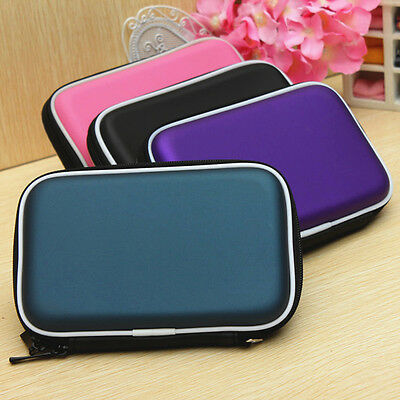 Universal Carrying Zipper Pouch Case Bag Protection for GPS Hard Disk Driver
