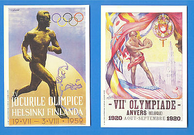 Barcelona Olympics 1992.5 Postcards Issued By Mars.