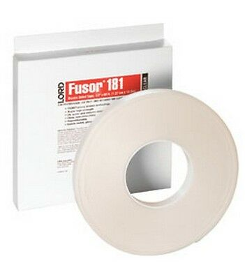 """Lord Fusor 181 Clear Double-Sided Tape, 1/2"""""""