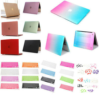 Matte Hard Case/keyset Cover/Plug for Macbook Mac Air 11 13 Pro 13 15+Retina Lot