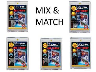 25 Ultra Pro ONE TOUCH MAGNETIC THICK HOLDERS MIX AND MATCH 35 55 75 100 130 PT