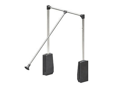Lift / Pull Down Wardrobe Rail 600-830mm Clothes Hanger that pulls down. 12kg