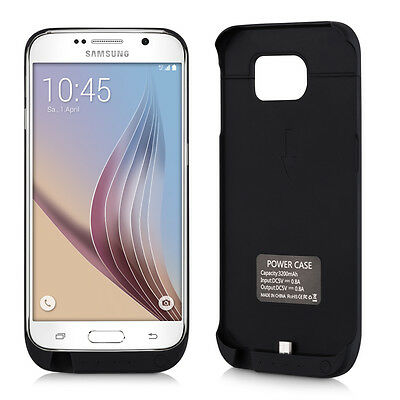 kwmobile AKKU CASE 3200MAH FÜR SAMSUNG GALAXY S6 S6 DUOS HÜLLE POWER BANK COVER