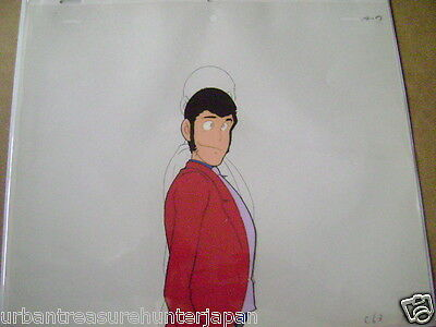 Lupin The Third Iii Lupin Anime Production Cel 16