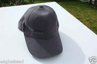Ball Cap Hat - Silver Willow Energy Oil Sands Fort McMurray Mining (H1289)