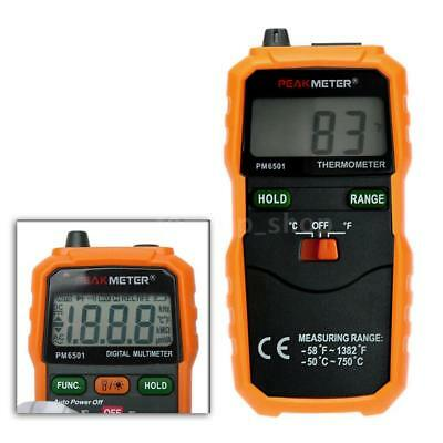 PM6501 K Type Digital LCD Thermometer Temperature Meter Tester Probe 4D24