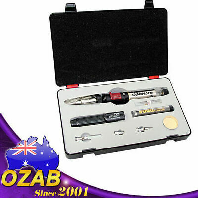 Pro120K 125W Gas Soldering Iron, Blow Torch, Hot Knife, Blower Kit Au Post