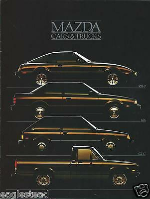 Auto Brochure - Mazda - Product Line Overview - 1985 - Truck (AB594)