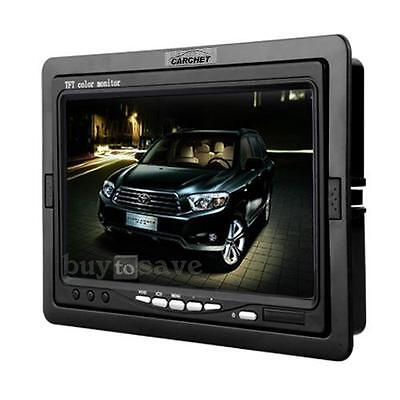 "7"" TFT LCD Car Monitor for CCTV Reversing Rearview Camera DVD High Accuracy New"