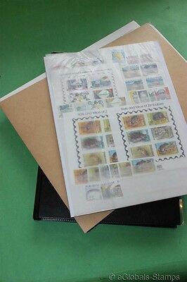 ZIMBABWE Africa MNH Stamp Collection upto 2012 ATM Imperforated Birds 2005 Sheet