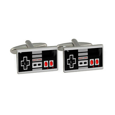 Games Controller Cufflinks in Gift Box entertainment computer system NEW