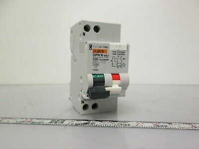 Merlin Gerin 19666 Residual Current Device 30mA 230VAC 1PH, C curve 20Amp