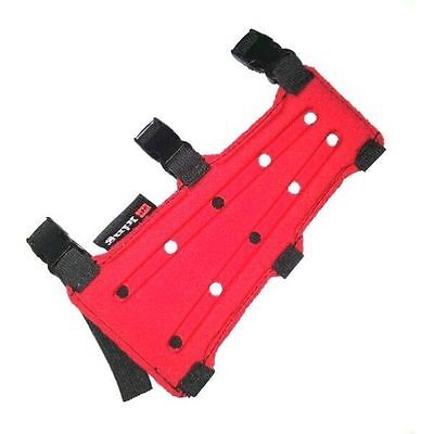 PSE 7 3 Strap Armguard RED T