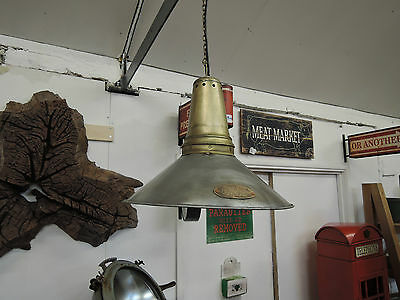 Industrial Style Vintage Look Ceiling Light Shades With Electrical Fittings