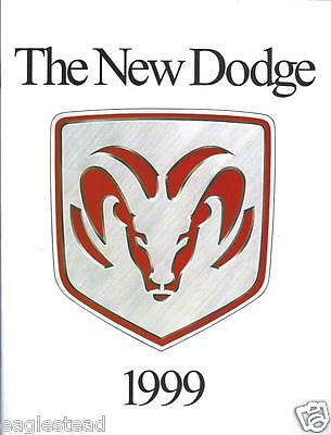 Auto Brochure - The New Dodge - Product Line Overview - Truck - 1999 (AB608)